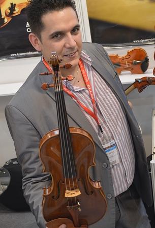 ディエゴ デル ヴァッレ バイオリン イタリア製