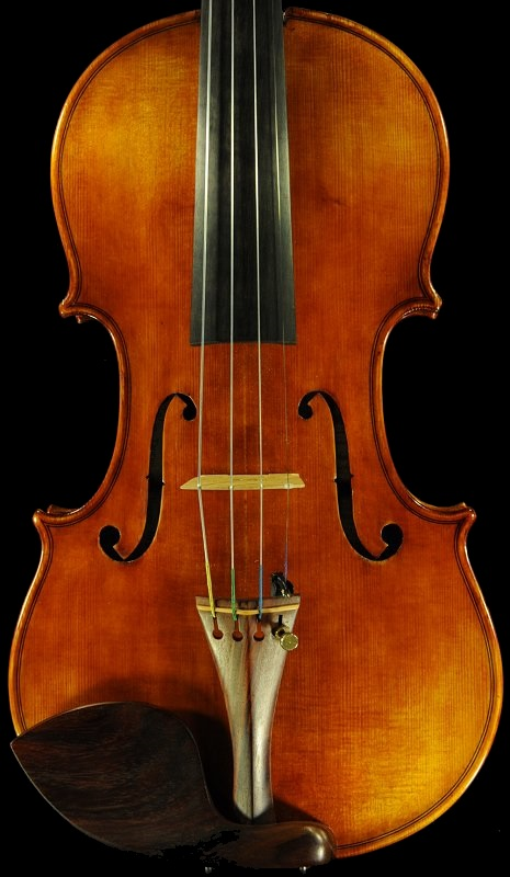 Labeled Carolus Badarello Hungarian Violin