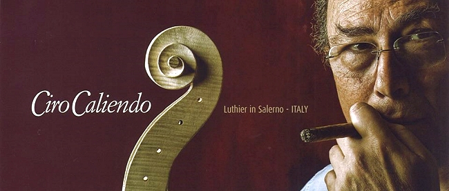 Ciro Caliendo Violin Salerno Napoli ITALY